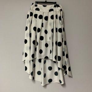 Polka dot skirt